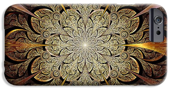 Anastasiya Mixed Media iPhone Cases - Gates of Light iPhone Case by Anastasiya Malakhova