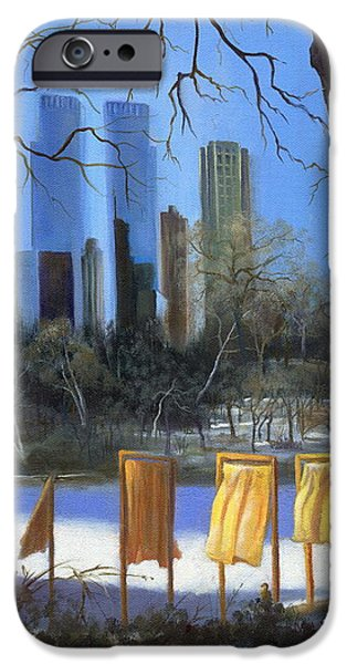 Gates of New York iPhone Case by Marlene Book