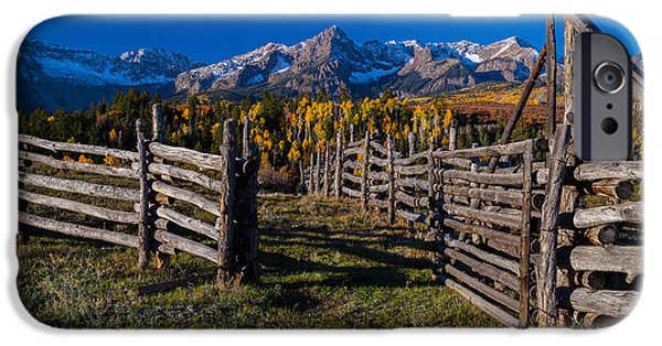 Fall iPhone Cases - Gateway to Colorado Beauty iPhone Case by Steven Reed