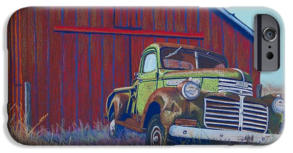 Rust Pastels iPhone Cases - Gathering Memories iPhone Case by Tracy L Teeter