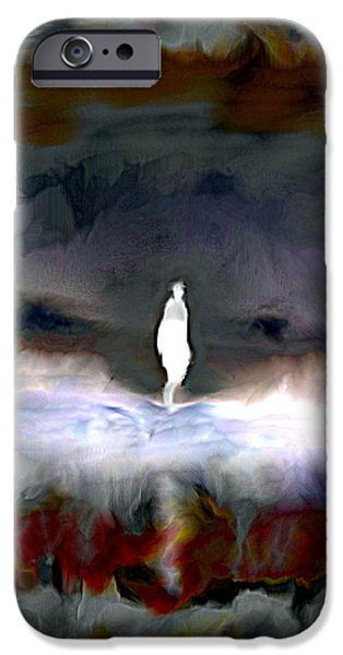 Fury iPhone Cases - Gathering Storm iPhone Case by Karunita Kapoor