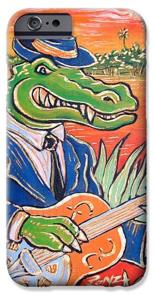 Gator Boogie iPhone Case by Robert Ponzio