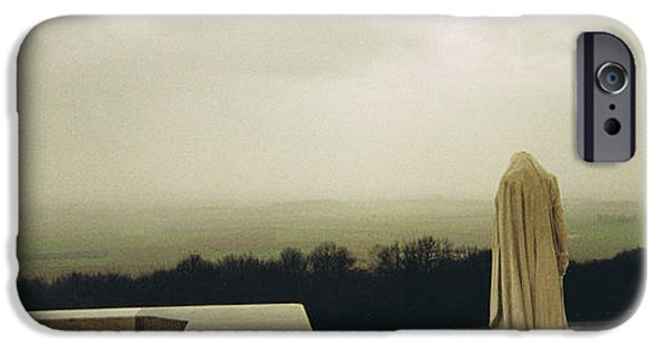 Wwi iPhone Cases - Gazing with Silent Sorrow iPhone Case by Eoghan Moriarty