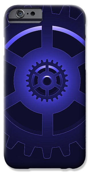 gear - cog wheel iPhone Case by Michal Boubin