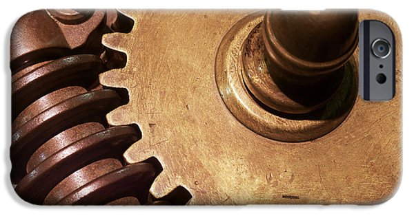 Bonding iPhone Cases - Gear Wheels iPhone Case by Carlos Caetano
