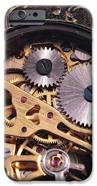 Gears iPhone Case by John Rizzuto
