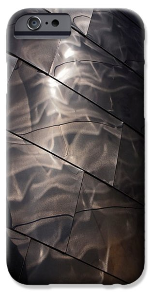 Stainless Steel iPhone Cases - Gehry Magic iPhone Case by Rona Black