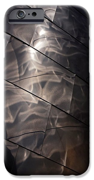 Downtown Photographs iPhone Cases - Gehry Magic iPhone Case by Rona Black