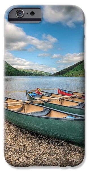 Geirionydd Lake iPhone Case by Adrian Evans