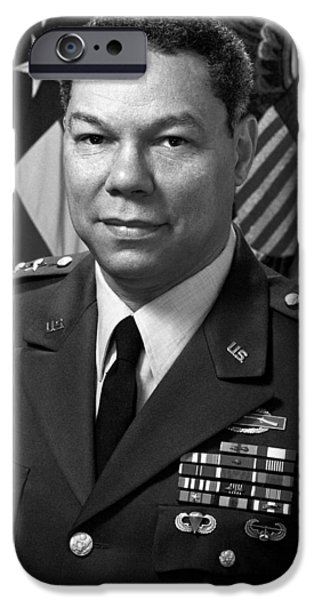 Iraq iPhone Cases - General Colin Powell iPhone Case by War Is Hell Store