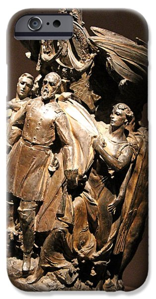Smithsonian iPhone Cases - General George Gordon Meade Memorial iPhone Case by Cora Wandel