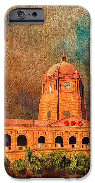 General Post Office Lahore iPhone Case by Catf