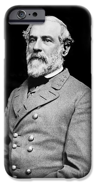 War iPhone Cases - General Robert E Lee - CSA iPhone Case by Paul W Faust -  Impressions of Light