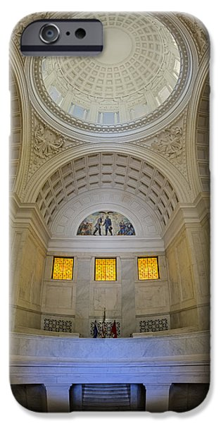 Recently Sold -  - Empire State iPhone Cases - General Ulysses S. Grant Memorial iPhone Case by Susan Candelario