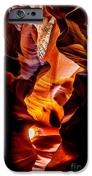 Flowing iPhone Cases - Genie In A Bottle iPhone Case by Az Jackson