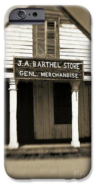 Genl Merchandise iPhone Case by Scott Pellegrin