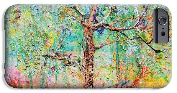 Painter Reliefs iPhone Cases - Genome iPhone Case by Regina Valluzzi