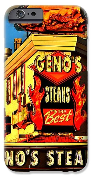 Geno's iPhone Case by Benjamin Yeager