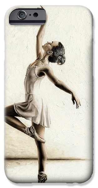 Slim iPhone Cases - Genteel Dancer iPhone Case by Richard Young