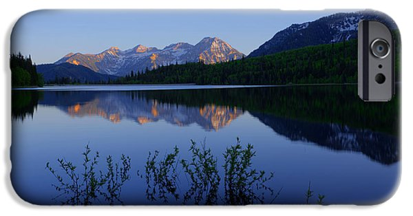 Utah iPhone Cases - Gentle Spring iPhone Case by Chad Dutson