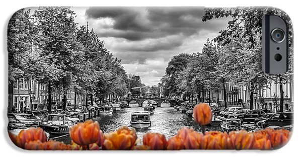 Recently Sold -  - River iPhone Cases - Gentlemens Canal  Amsterdam iPhone Case by Melanie Viola