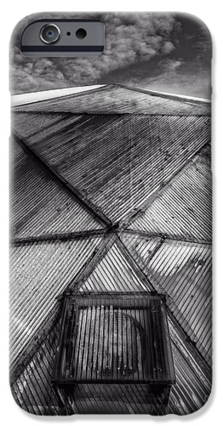 Shed iPhone Cases - Geodesic Dome iPhone Case by Edward Fielding