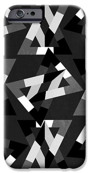 geometric 12 iPhone Case by Mark Ashkenazi