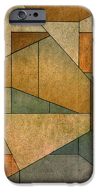 Geometric Abstraction IV iPhone Case by David Gordon