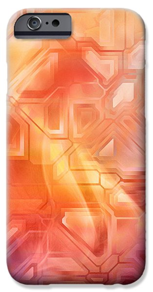 Home Decor Mixed Media iPhone Cases - Geometrica iPhone Case by Home Decor