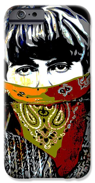 Beatles iPhone Cases - George Harrison iPhone Case by RicardMN Photography