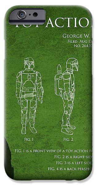 George Lucas Patent 1979 iPhone Case by Aged Pixel