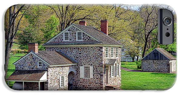 Best Sellers -  - Historic Site iPhone Cases - George Washington Headquarters at Valley Forge iPhone Case by Olivier Le Queinec