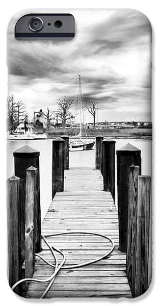 Georgetown Dock iPhone Case by John Rizzuto