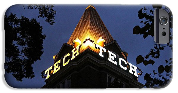 Best Sellers -  - Electrical iPhone Cases - Georgia Tech iPhone Case by Reid Callaway