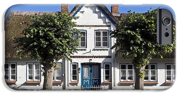 Koehrer-wagner_heiko iPhone Cases - German country house  iPhone Case by Heiko Koehrer-Wagner