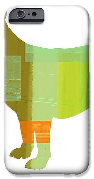 German Sheppard 1 iPhone Case by Naxart Studio