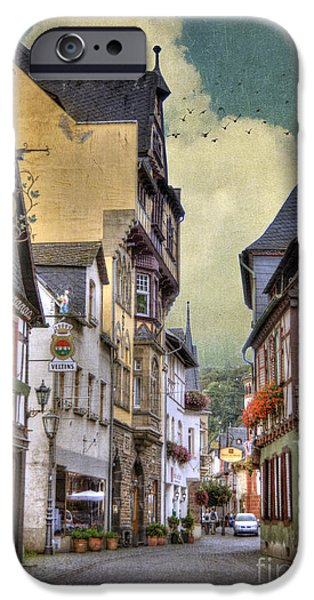 Frame House Photographs iPhone Cases - German Village iPhone Case by Juli Scalzi