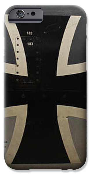 German war plane iPhone Case by Joseph Semary