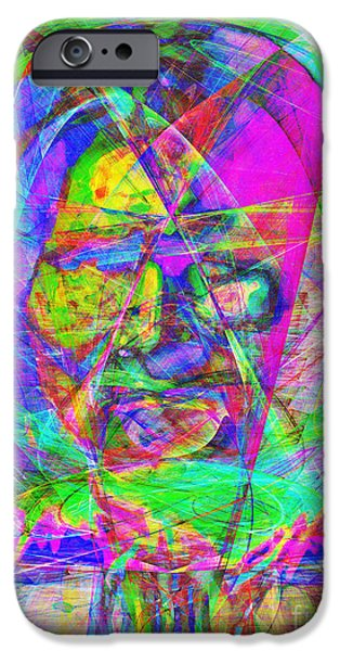 Geronimo 20130611 iPhone Case by Wingsdomain Art and Photography