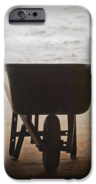 Work Tool Photographs iPhone Cases - Get Back To Work iPhone Case by Patrick M Lynch
