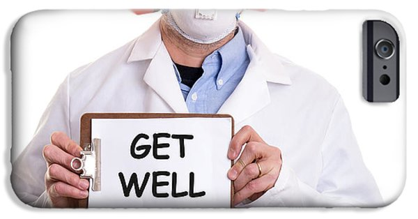 Sickness iPhone Cases - Get Well iPhone Case by Edward Fielding