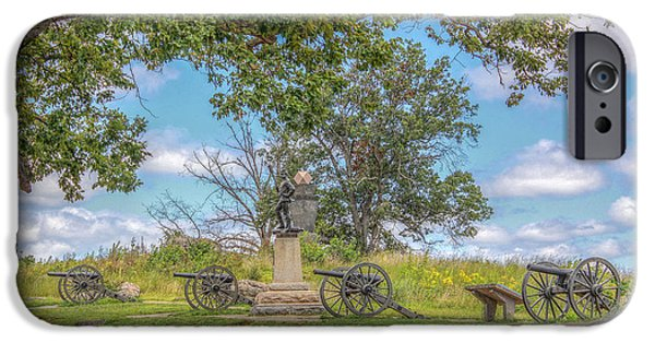 Devils Den iPhone Cases - Gettysburg Battlefield 4th New York  iPhone Case by Randy Steele