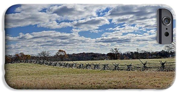 Battlefield Site iPhone Cases - Gettysburg Battlefield - Pennsylvania iPhone Case by Brendan Reals