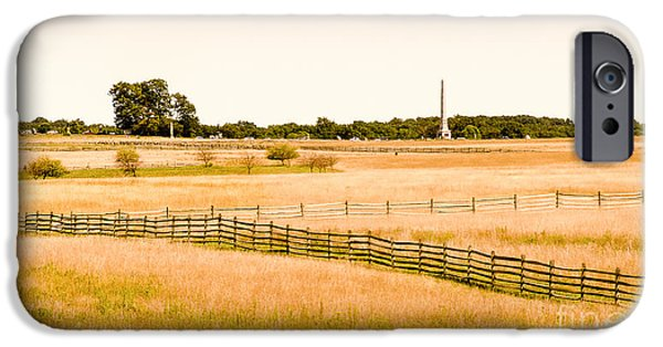 Weapon iPhone Cases - Gettysburg Battleground iPhone Case by  Bob and Nadine Johnston