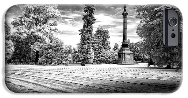 War iPhone Cases - Gettysburg Soldiers Cemetery iPhone Case by Paul W Faust -  Impressions of Light