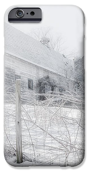 Ghost Barn iPhone Case by Bill  Wakeley