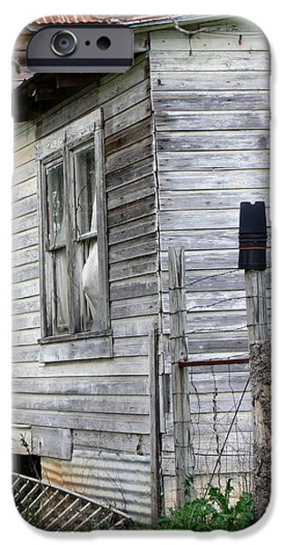 Haunted House iPhone Cases - Ghost House iPhone Case by Terry Fleckney