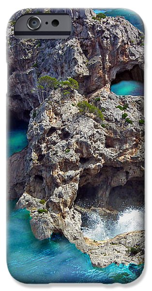 Ghost Rock iPhone Case by Johnny Trippick