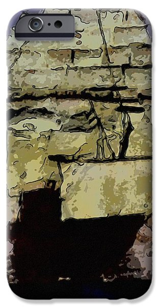 Pirate Ship iPhone Cases - Ghost ship iPhone Case by Toppart Sweden