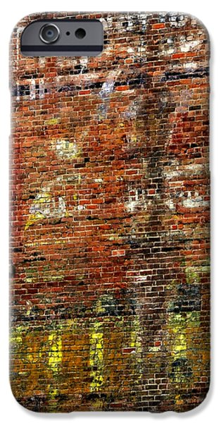 Ft. Collins iPhone Cases - Ghost Sign 13469 3 iPhone Case by Jerry Sodorff